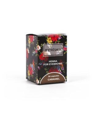 хна для бровей Matreshka цвет Caramel большая банка