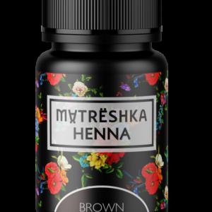 Хна для бровей - коричневую Matreshka