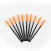 оранжевые щеточки для ресниц и бровей Matreshka
